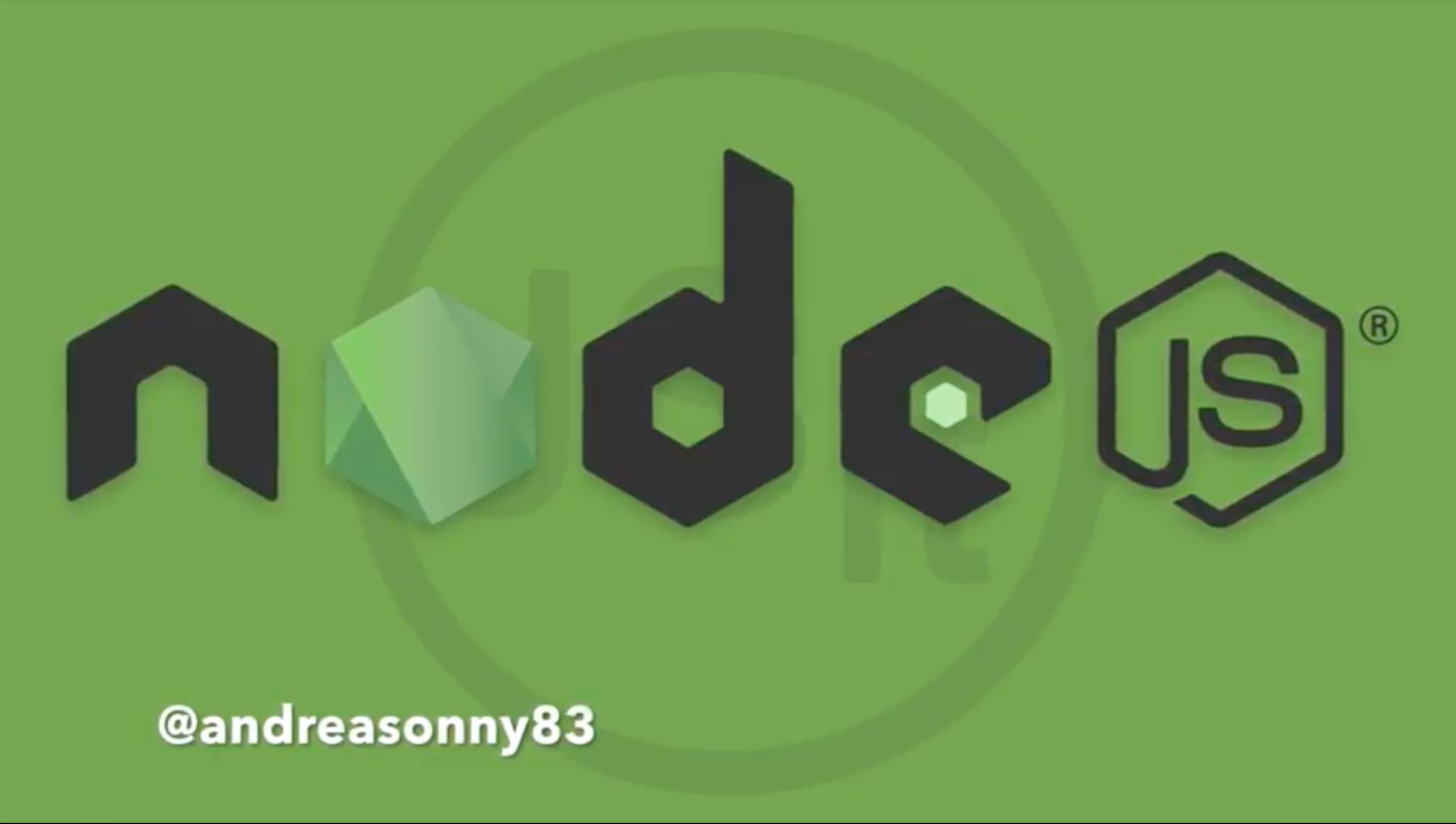 creiamo una REST API in NodeJS