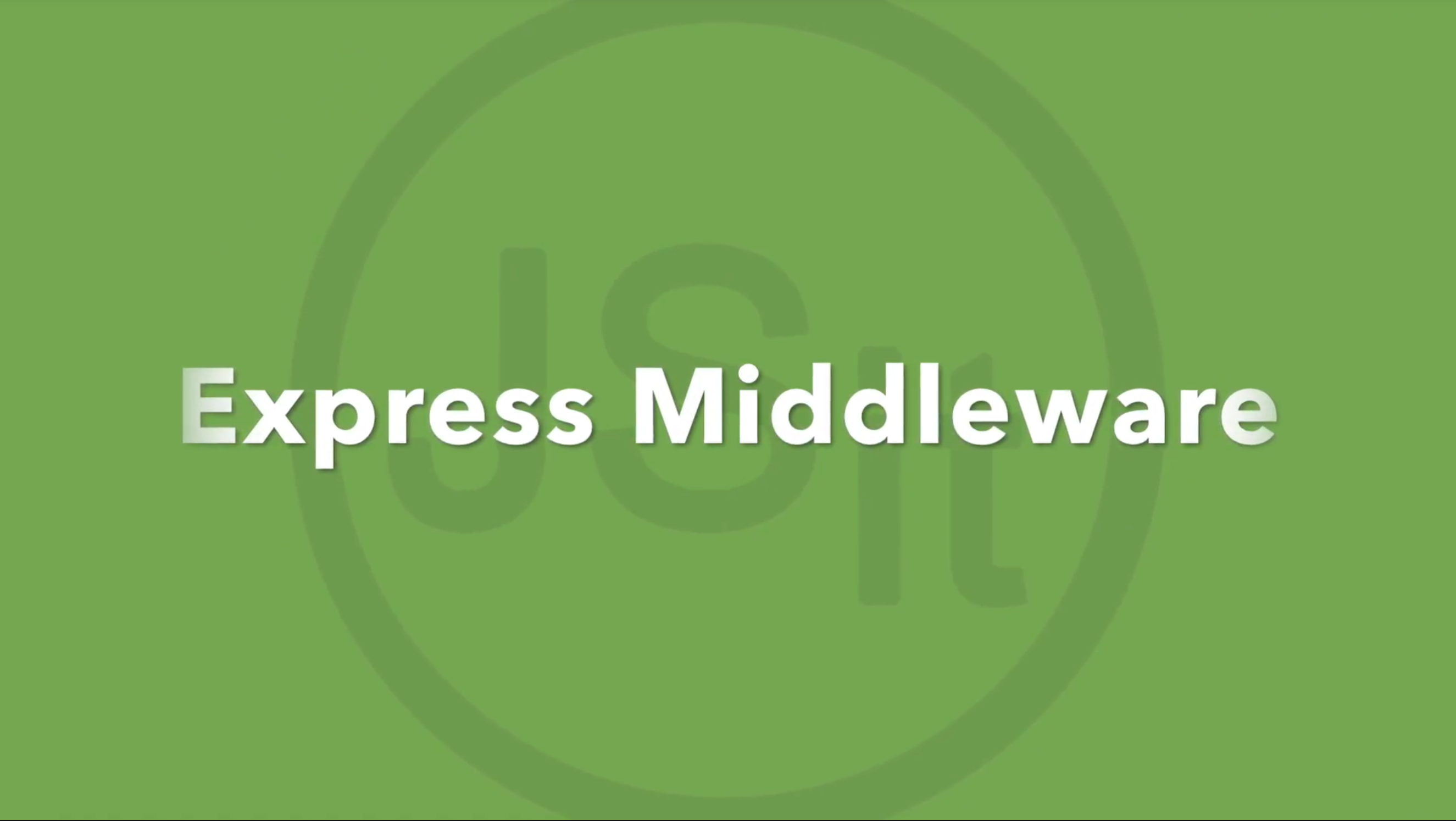 Express middleware